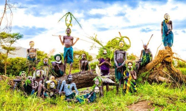 ヨシダナギ(写真家)が行った民族撮影旅!パプアニューギニアのカラム族とは?
