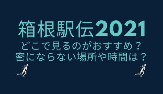 箱根駅伝2021はどこで見るのがおすすめ?密にならない場所や時間は?
